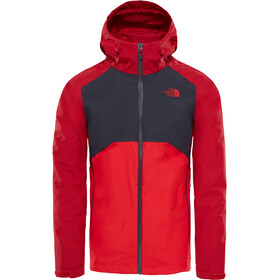 The North Face M's Stratos Jacket Rage Red/Asphalt Grey/High Risk Red